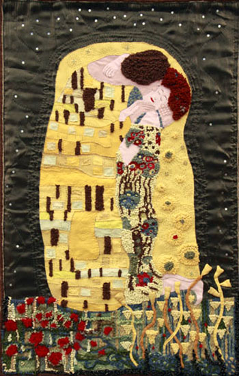 Magnificent Textile Art Wall Hangings Crest - Wall Painting Ideas ...